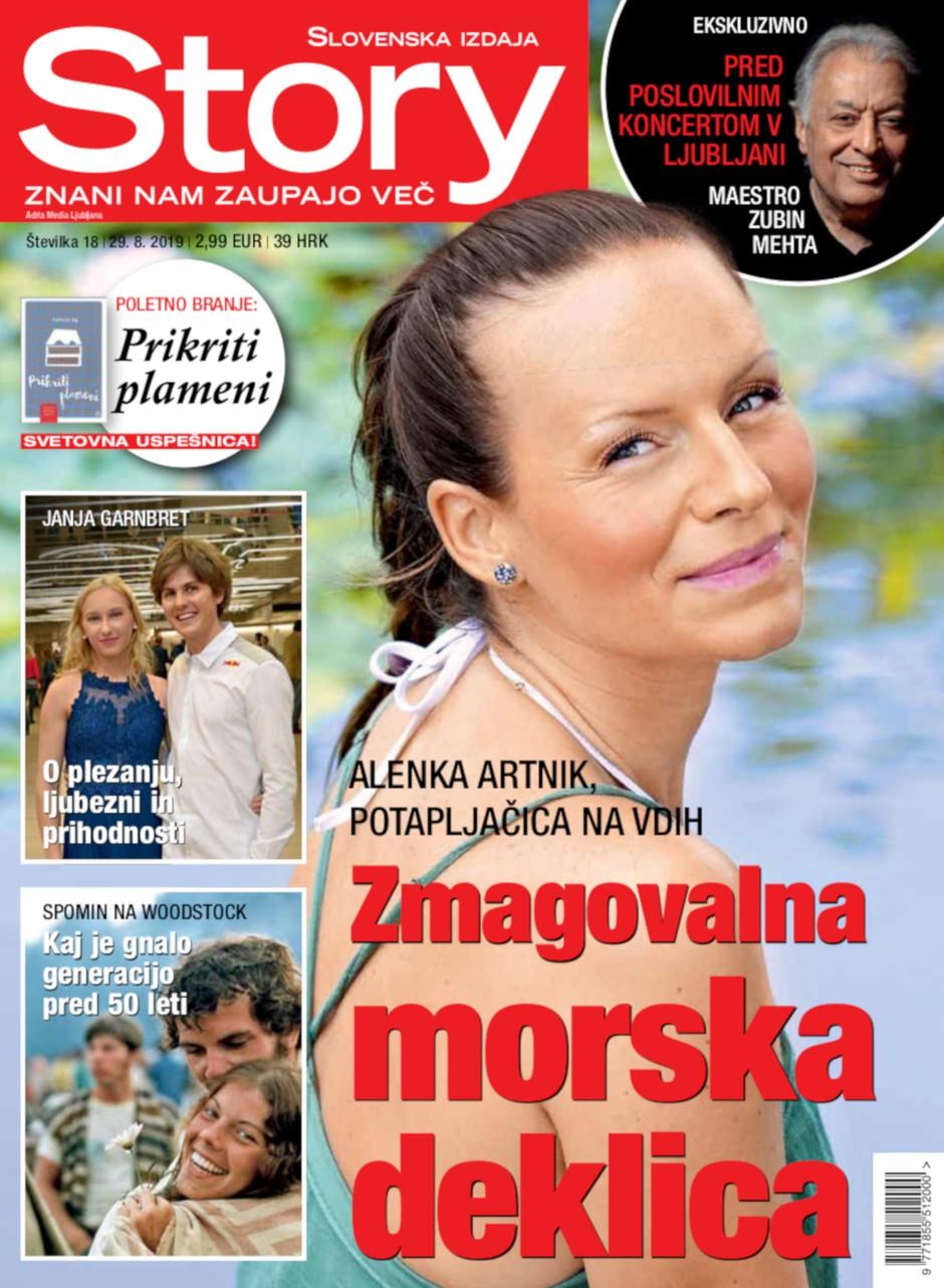 Alenka Artnik, potapljačica na vdih: Zmagovalna morska deklica (foto: story)