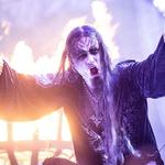 Norveški black metal bogovi Dimmu Borgir so zagrmeli in priklicali nevihto. (foto: Foto: Miha Koron)