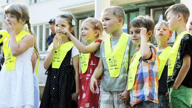 Za okoli 261.500 učencev in dijakov se danes začenja šola (foto: Daniel Novakovič/STA)