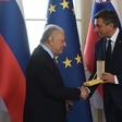 Predsednik republike Borut Pahor je podelil zlati red za zasluge maestru Zubinu Mehti
