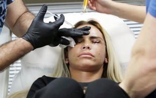 Katie Price zaradi lepotnih operacij vse bolj neprepoznavna?! Poglejte fotografije z lepotnega posega!