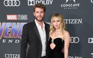 Gresta Liam Liam Hamsworth in Miley Cyrus narazen; komu je bolj žal?!