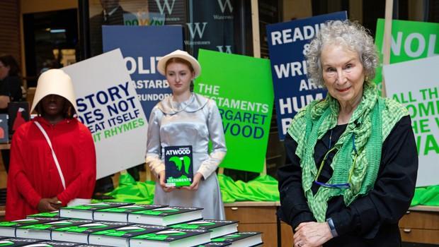 Nadaljevanje Dekline zgodbe pisateljice Margaret Atwood že v prodaji (foto: profimedia)