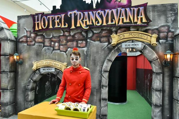V Cityparku spoznajte Drakulo in ostale pošasti ter obiščite njihov dvorec (foto: BTC City Park Press)