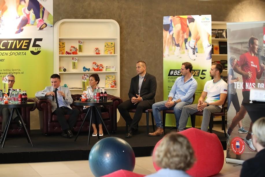 28. septembra bomo z #BodiAktiven tekli za dober namen (foto: OKS Slovenija Press)