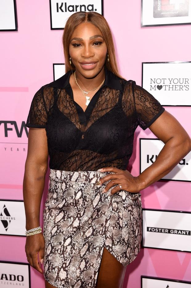 Serena Williams s svojo kolekcijo na tednu mode v New Yorku (foto: profimedia)