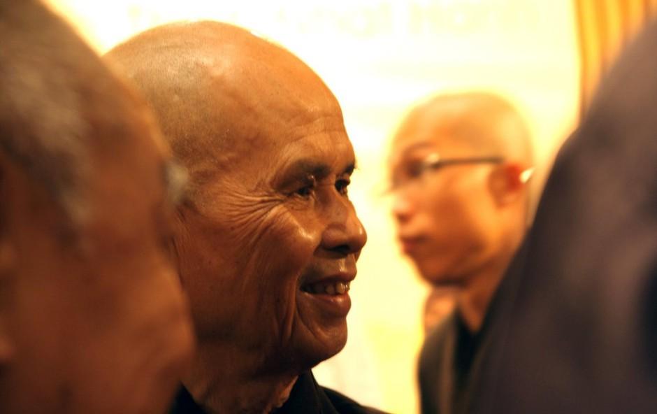 Thich Nhat Hanh: Z budizmom skladni napotki, kako doseči pravo ljubezen (foto: profimedia)
