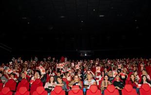 Prevarantke na Wall Streetu na Ladies night  napolnile dvorane v Cineplexxu