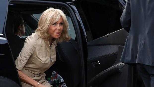 Brigitte Macron se vrača za šolski kateder (foto: profimedia)