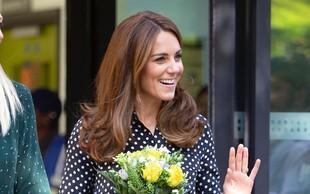 Kate Middleton je očarala s čudovito obleko in uhani princese Diane