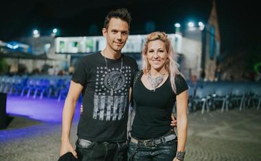 Eva Breznikar in Jure Golobič.