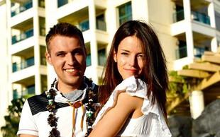 Barbara Ogrinc in Rok Žlindra po trinajstih letih ljubezni na sanjskih Havajih dahnila usodni da