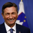 Predsednik Pahor navdušuje z 'odštekanimi zokni'