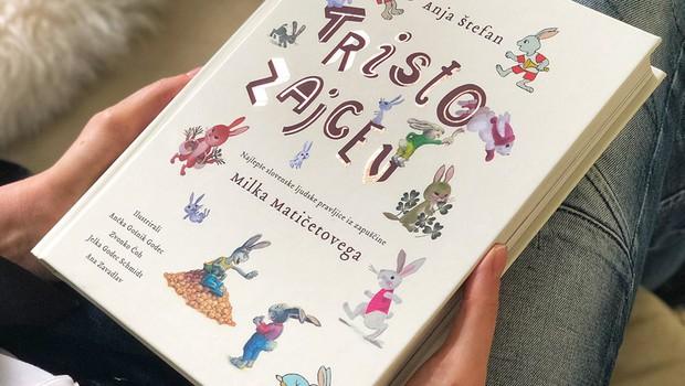 44 najlepših pravljic, ki jih je rešil pozabe Milko Matičetov, v knjigi Tristo zajcev (foto: emka.si)