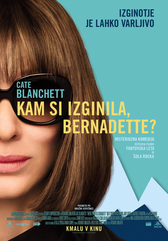 11. LET REVIJE STORY: vabilo na premiero filma Kam si izginila, Bernadette? (foto: FOTO: promocijski material)