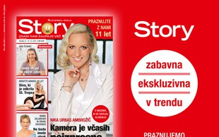 Ob 11. rojstnem dnevu revija Story samo 1 evro