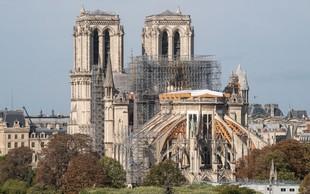 Za obnovo katedrale Notre-Dame zbrali skoraj milijardo evrov