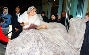 Jennifer Lopez pobegnila s poroke - a zgolj s filmske