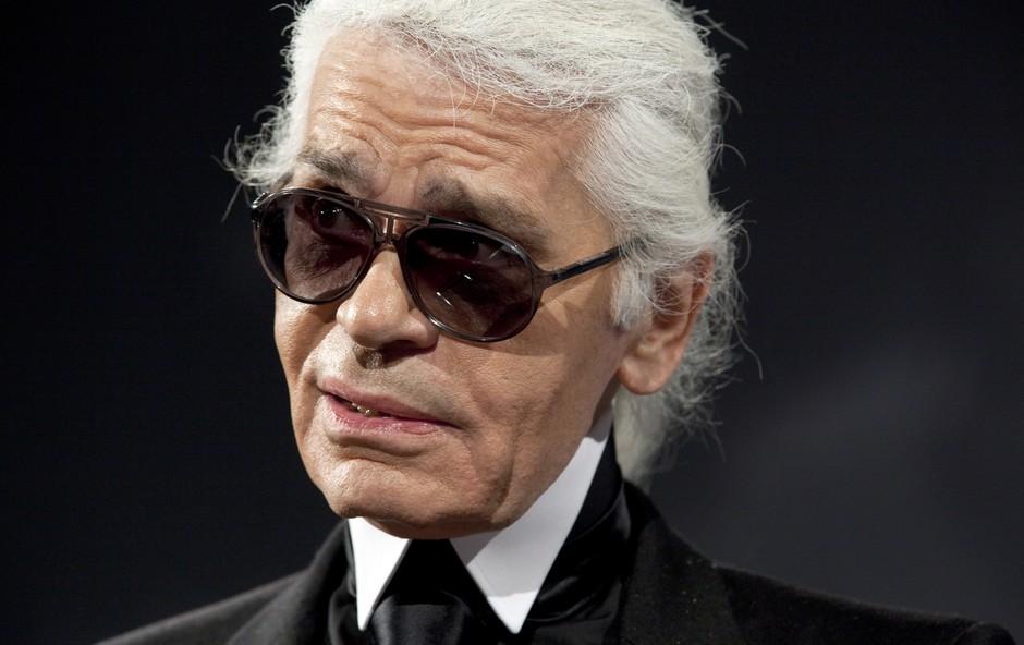 Kako je Karl Lagerfeld postal ikona razpadajočega se sveta (foto: profimedia)