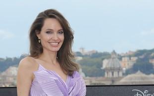 Angelina Jolie si ne želi prijateljevanja z Bradom Pittom