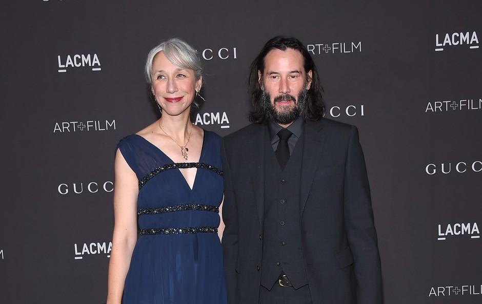 Keanu Reeves presenetil javnost: Sta z Alexandro par? (foto: Profimedia)