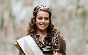 Diplomirana delovna terapevtka MonikaKovačič postala nova Ptujska vinska kraljica