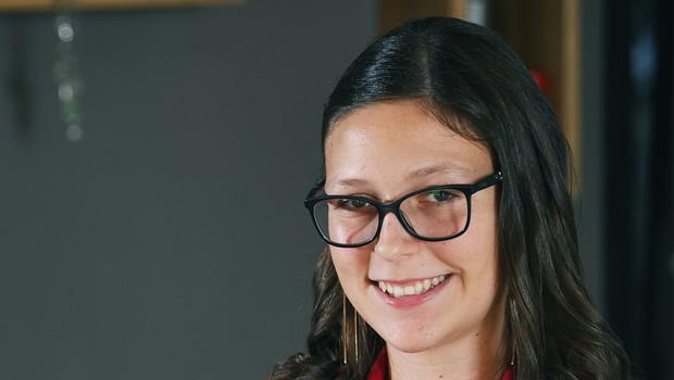 Ta bodoča velemojstrica je najboljša slovenska šahistka v mladinski konkurenci (foto: Mateja Jordovič Potočnik)