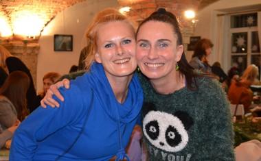 Alenka Tetičkovič s prijateljico