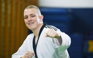 Državni prvak v taekwondoju z izrednim občutkom za soljudi želi postati fizioterapevt