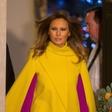 Rumeni plašč Melanie Trump, ki je v kraljevi palači zasenčil vse, še kraljica je ostala neopažena