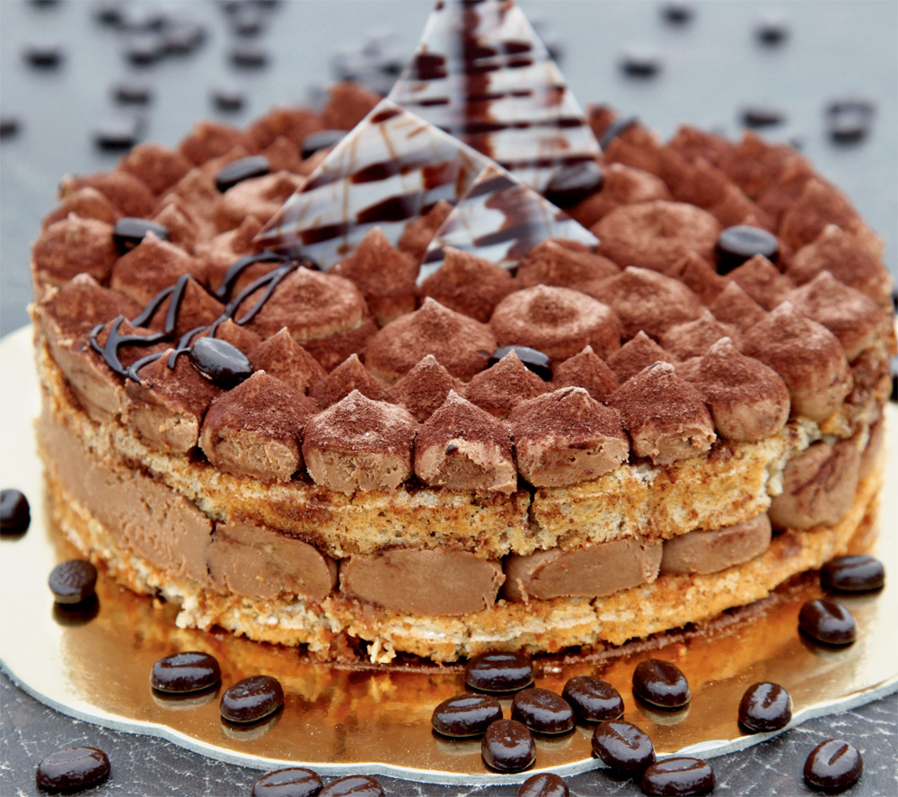 Čokoladna kavna torta