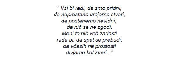 besedilo Alenka Godec