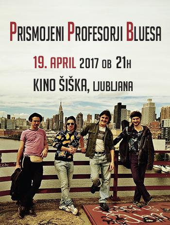 prismojeni profesorji bluesa