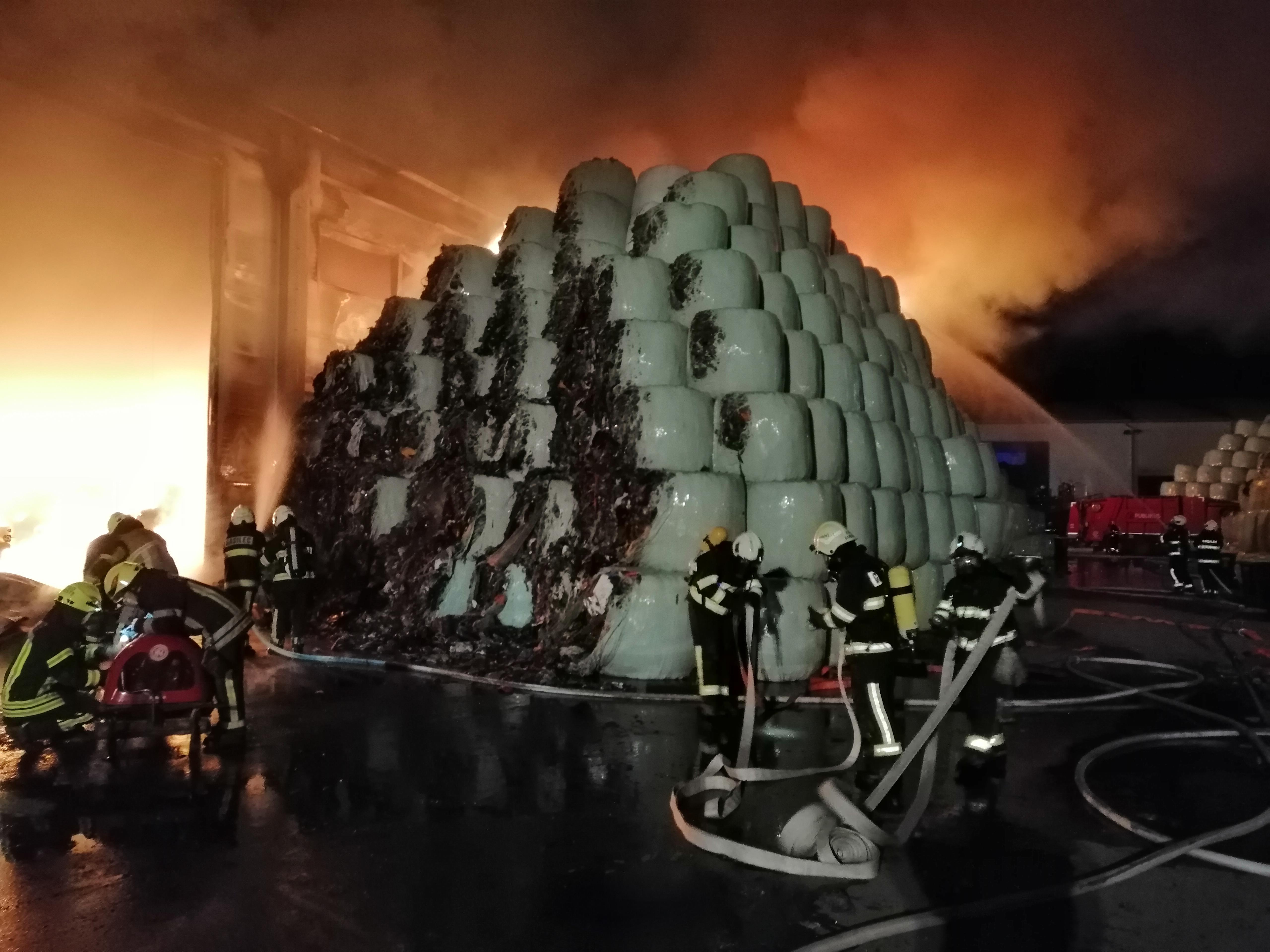požar V Komendi